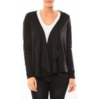textil Mujer Chaquetas de punto Vero Moda Cardigan Jeansab 10104756 Noir Negro