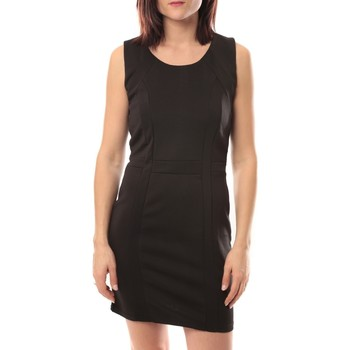 textil Mujer Vestidos cortos Dress Code Robe Wind V002 Noir Negro
