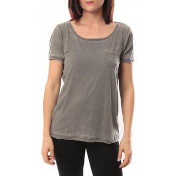textil Mujer Camisetas manga corta Vero Moda Moog ss Top 10105862 Gris Gris