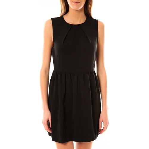 textil Mujer Vestidos cortos Vero Moda Robe Noel SL Mini Dress Mix Wall 10087646 Noir Negro