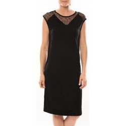 textil Mujer Vestidos cortos Vero Moda Shake It SL Knee Dress 10105501 Noir Negro