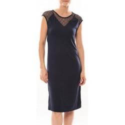 textil Mujer Vestidos cortos Vero Moda Shake It SL Knee Dress 10105501 Bleu Azul
