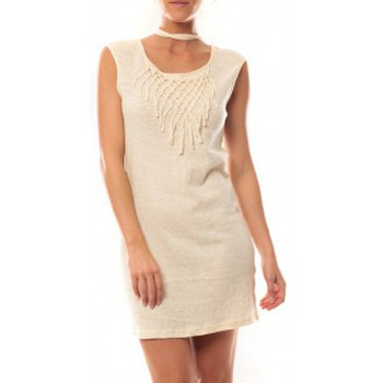 textil Mujer Vestidos cortos Vero Moda Starlight SL Mini Dress 10107349 Beige Beige