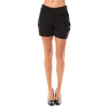 textil Mujer Shorts / Bermudas Vero Moda Sunny Day Shorts 10108018 Noir Negro