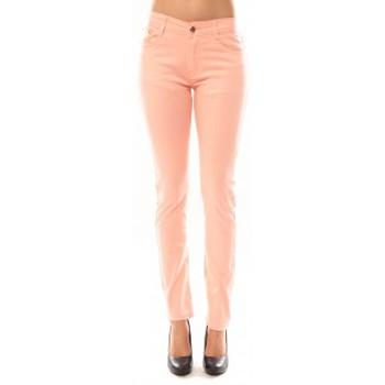 textil Mujer Pantalones Tcqb Pantalon B3523 Rose Rosa