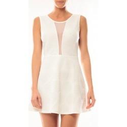 textil Mujer Vestidos cortos Vera & Lucy Robe Lucce 9199 Blanc Blanco