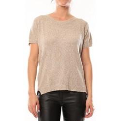 textil Mujer Camisetas manga corta By La Vitrine T-Shirt S13010 Taupe Marrón