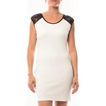 textil Mujer Vestidos cortos Dress Code Robe Love Look 320 Blanc Blanco