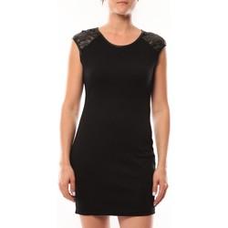 textil Mujer Vestidos cortos Dress Code Robe Love Look 320 Noir Negro