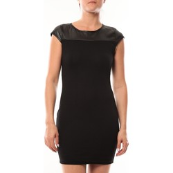 textil Mujer Vestidos cortos Dress Code Robe Love Look 319 Noir Negro