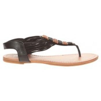 Zapatos Mujer Chanclas Cassis Côte d'Azur Sandales Carlotta Noir Negro