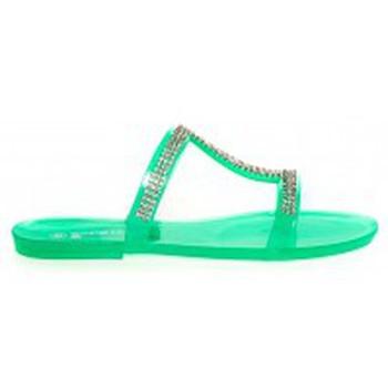 Zapatos Mujer Zuecos (Mules) Ilario Ferucci Mules Ursina Uziel Vert Verde