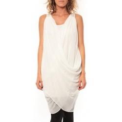 textil Mujer Vestidos By La Vitrine ROBE Blakie SL Short Dress  Blanc Blanco
