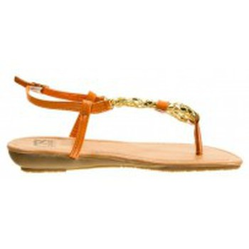 Zapatos Mujer Chanclas Cassis Côte d'Azur Tongs Typie Orange Naranja
