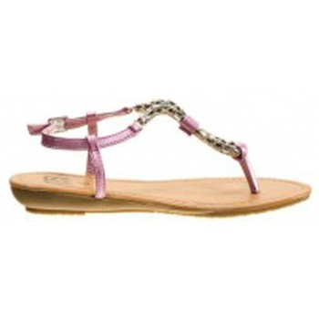 Zapatos Mujer Chanclas Cassis Côte d'Azur Tongs Typie Rose Rosa