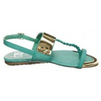 Zapatos Mujer Chanclas Cassis Côte d'Azur Tongs Fiduz Vert Verde