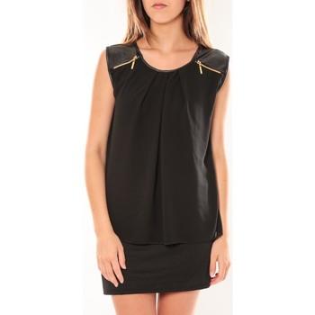 textil Mujer Vestidos cortos Dress Code Robe ANM Moda Noir Negro
