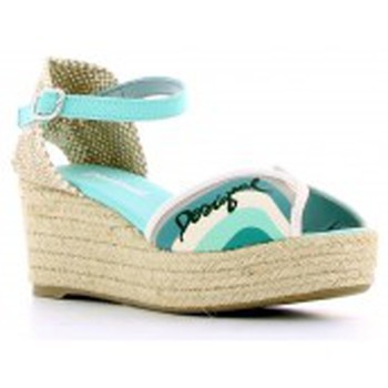 Zapatos Mujer Sandalias Desigual Sandales Medio 6 41SS237 Vert Verde