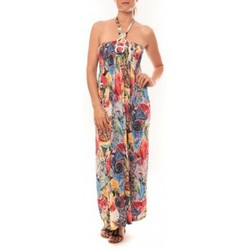textil Mujer Vestidos largos Nina Rocca Robe Sylvia F587 Rose Rosa