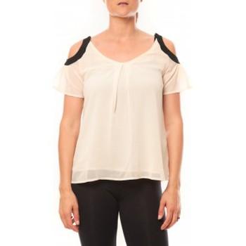 textil Mujer Camisetas manga corta Comme Des Filles Comme des Garçons T-shirt Moni&Co 328 Beige Beige