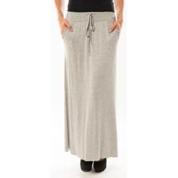 textil Mujer Faldas Sweet Company Jupe simple à poche Gris clair Gris