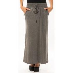 textil Mujer Faldas Sweet Company Jupe simple à poche Gris Foncé Gris