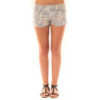 textil Mujer Shorts / Bermudas De Fil En Aiguille Short Victoria & Karl Gris Gris