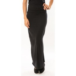 textil Mujer Faldas Sweet Company Jupe Fashion Noir Negro