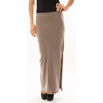 textil Mujer Faldas Sweet Company Jupe Fashion Beige Beige