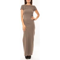 textil Mujer vestidos largos Sweet Company Robe longue Fashion Beige Beige