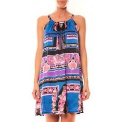 textil Mujer Túnicas Comme Des Filles Comme des Garçons Robe Tricotonic A2025 Bleu foncé Azul