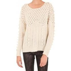 textil Mujer Jerséis Vero Moda Carrara LS O-Neck Rep 1 10119638 Blanc Blanco