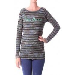 textil Mujer Camisetas manga larga Little Marcel T-shirt Tamanite H14IBF026 Kaki Verde