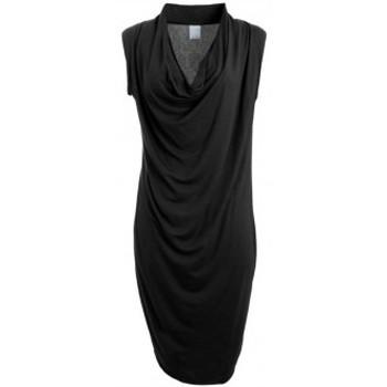 textil Mujer Vestidos cortos Vero Moda Dina Drapy S/L Short Dress It Noir Negro