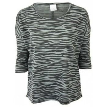 textil Mujer Camisetas manga corta Vero Moda Poda Cool 3/4 Top GA 10115471 Gris Gris