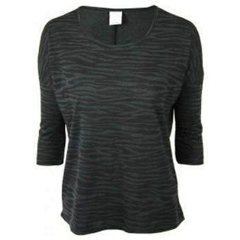 textil Mujer Camisetas manga corta Vero Moda Poda Cool 3/4 Top GA 10115471 Noir Negro