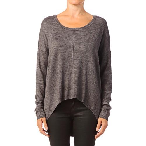 textil Mujer Tops / Blusas Vero Moda Glory Aura LS Zipper Blouse 10115665 Gris Gris