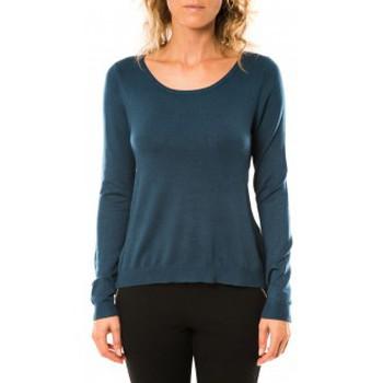 textil Mujer Jerséis Vero Moda Glory Eve LS Zipper Blouse 10114841 Marine Azul