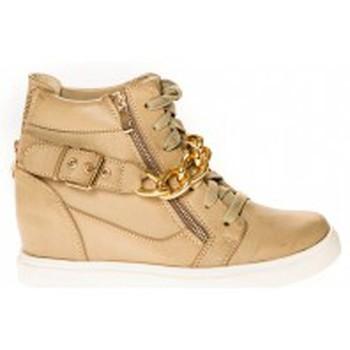 Zapatos Mujer Zapatillas altas Cassis Côte d'Azur Baskets Kabongo Beige Beige