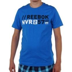 textil Hombre camisetas manga corta Reebok Sport Actron Graphic Azul