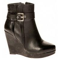 Zapatos Mujer Botines Cassis Côte d'Azur Bottines Alane Noir Negro