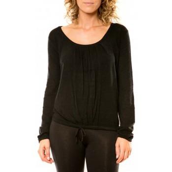 textil Mujer Jerséis Vision De Reve Vision de Rêve Pull 12033 Noir Negro