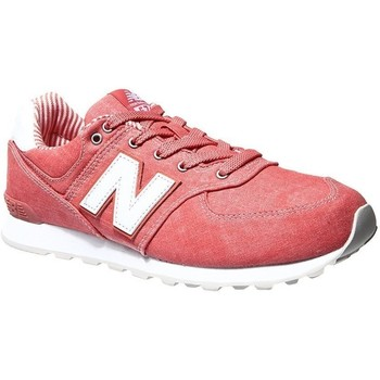 Zapatos Niños Running / trail New Balance GC574CE Rosa