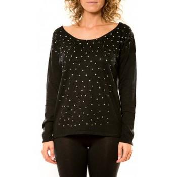 textil Mujer Jerséis Vision De Reve Vision de Rêve Pull 12030 Noir Negro
