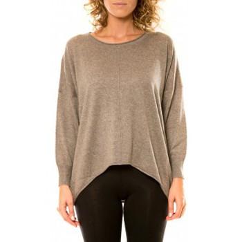 textil Mujer Jerséis Vision De Reve Vision de Rêve Pull 12021 Taupe Marrón