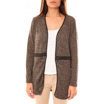 textil Mujer Chaquetas de punto Nina Rocca Gilet L'Oasi Taupe Beige