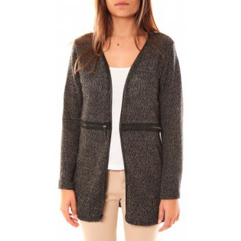 textil Mujer Chaquetas de punto Nina Rocca Gilet L'Oasi Gris Anthracite Gris