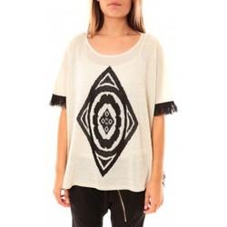 textil Mujer Jerséis Tcqb Poncho Di&A 0196 Blanc Blanco