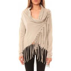 textil Mujer Jerséis De Fil En Aiguille Gilet Viki Beige Beige