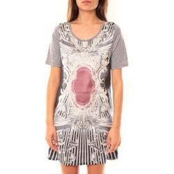 textil Mujer Túnicas Coquelicot Robe Tunique CQTW14212 Gris Gris
